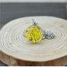 Blütenschmuck-Halskette, gelb