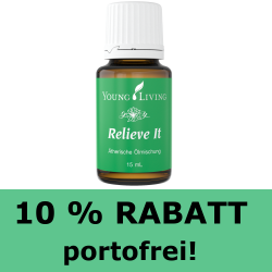 Relief It, RABATT auf ätherische Ölmischung Young Living
