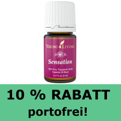 Sensation, ätherische Ölmischung Young Living, Rabatt