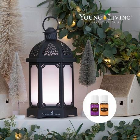 Lantern Diffuser, grau, Young Living