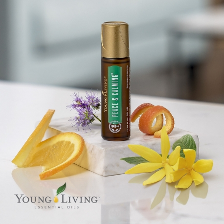 Peace & Calming Roll On, Young Living ätherische Ölmischung als kosmetisches Mittel