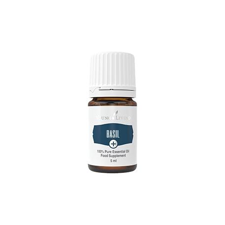 Basilikum, Young Living ätherisches Öl als Nahrungsergänzung