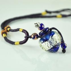 Blue Heart, Aroma-Schmuck Halskette
