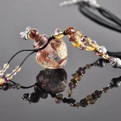 Vieux Rose, Aroma-Schmuck Halskette