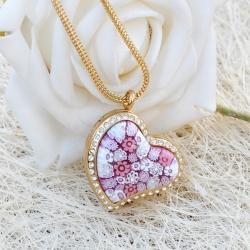 Medaillonkette Heart, Aroma-Schmuck Halskette