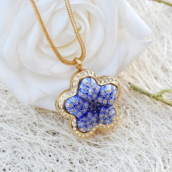 Medaillonkette Star, Aroma-Schmuck Halskette