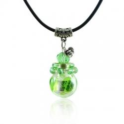 Spherical, grün, Aroma-Schmuck Halskette