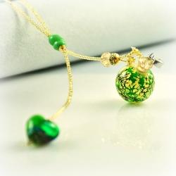 Dreaming Beads, grün, Aroma-Schmuck Halskette