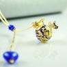 Dreaming Beads, blau, Aroma-Schmuck Halskette