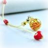 Dreaming Beads, rot, Aroma-Schmuck Halskette