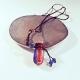 Secret Essentials, blau-rot, Aroma-Schmuck Halskette