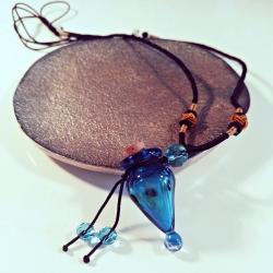 Blue Lagoon, Aroma-Schmuck Halskette