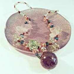 Gemstone Deluxe, Aroma-Schmuck Halskette