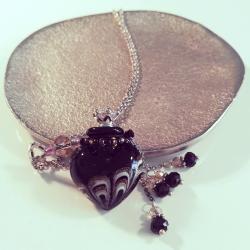 Joueur, schwarz, Aroma-Schmuck Halskette