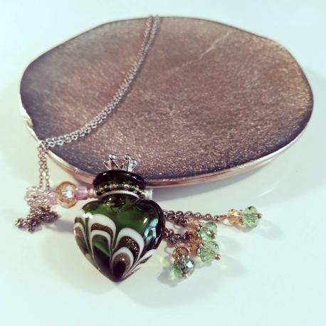 Joueur, grün, Aroma-Schmuck Halskette