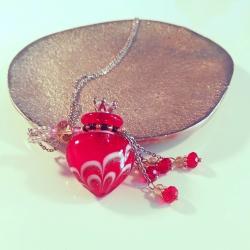 Joueur, rot, Aroma-Schmuck Halskette