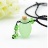 Phiole, grün, Aroma-Schmuck Halskette
