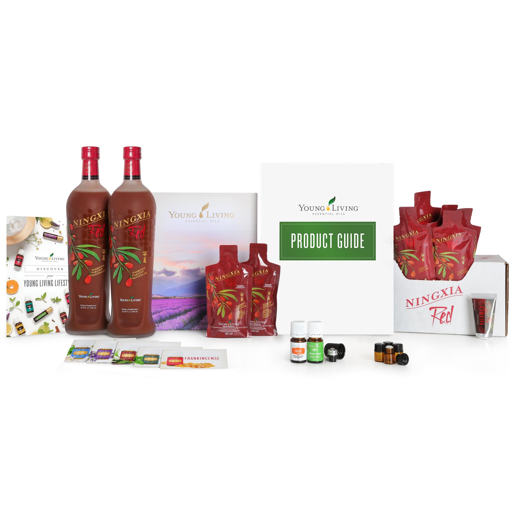 Premium Starter Set mit NingXia Red - Ihr Energieboost direkt bei Young Living als Mitglied um 24 % günstiger bestellen